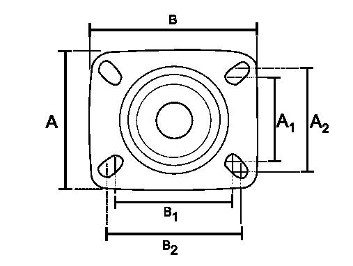 แป้น S Series White